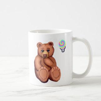 Taza de pensamiento del oso de Aspergers