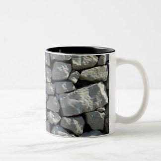 Taza de piedra real