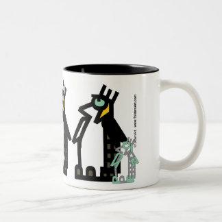 Taza de pingüinos