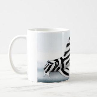 Taza de Pleco de la cebra