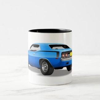 Taza de Plymouth azul 'Cuda
