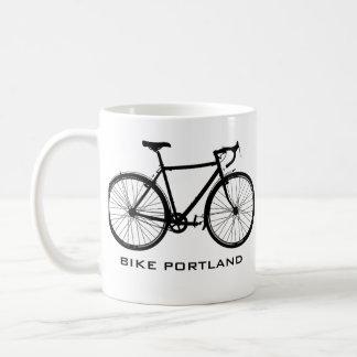 Taza de Portland de la bici - sola velocidad