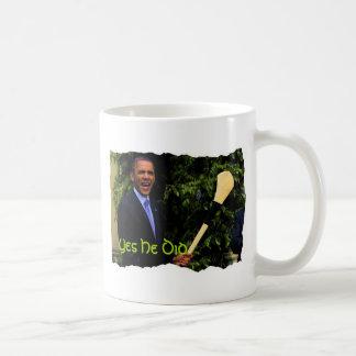 Taza de presidente Obama irish Visit Coffe