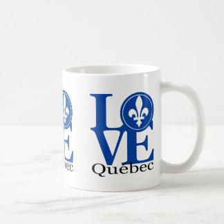 Taza de Quebec 11oz del AMOR