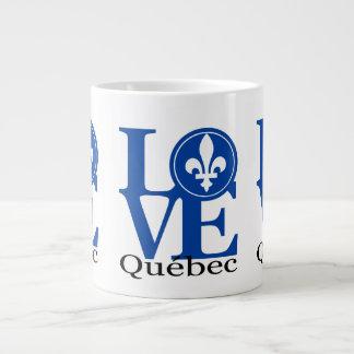 Taza de Quebec 20oz del AMOR Taza Grande