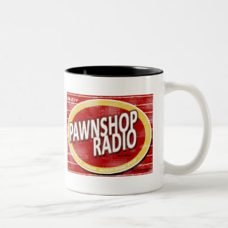 Taza de radio del vintage de la casa de empeños