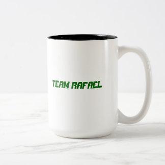 Taza de Rafael del equipo