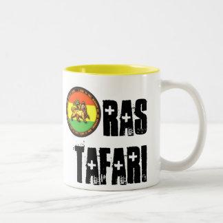 Taza de Ras Tafari - amarillo