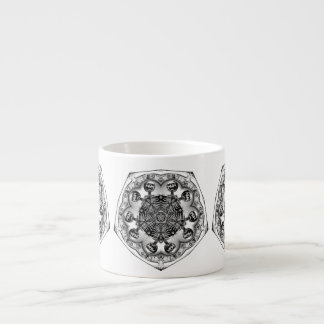 Taza de RibCaged Tazita Espresso