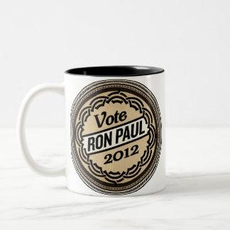 Taza de Ron Paul del voto