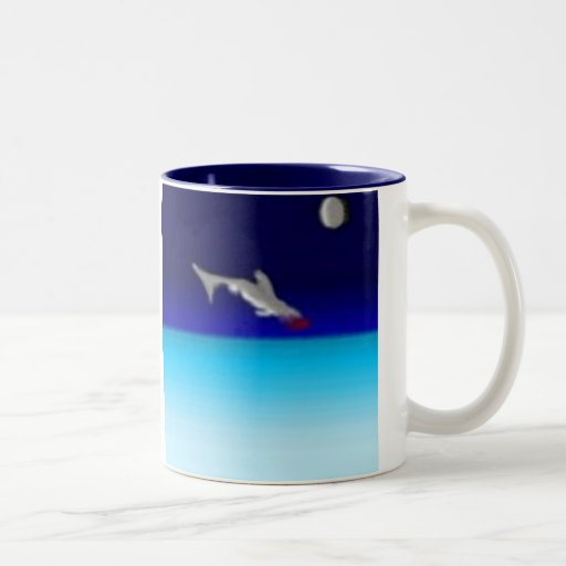 Taza de salto del tiburón