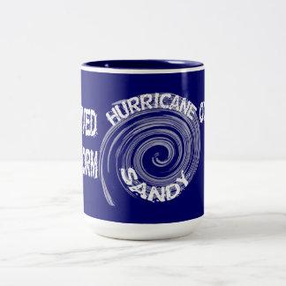 Taza de Sandy del huracán