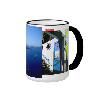 Taza de Santorini Seaview