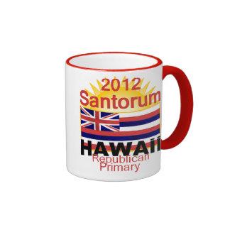 Taza de Santorum HAWAII