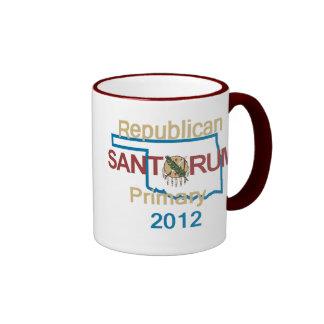 Taza de Santorum OKLAHOMA