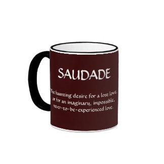TAZA DE SAUDADE