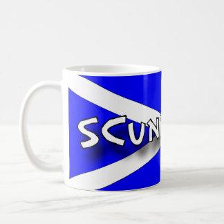 """Taza de """"Scunnered"""" - argot escocés"""