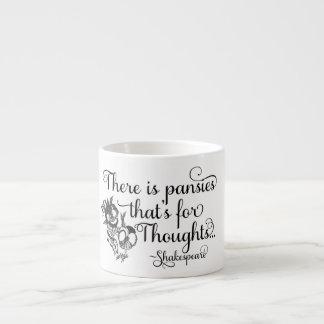 Taza de Shakespeare, pensamientos para los Taza Espresso