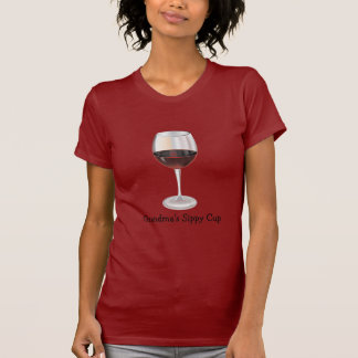 Taza de Sippy de la abuela (personalizable) Tee Shirts