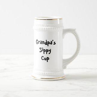 Taza de Sippy del abuelo (personalizable)