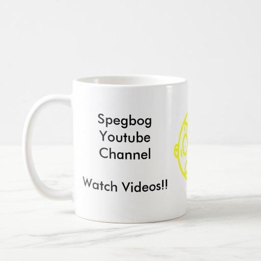 Taza de Spegbog YouTube
