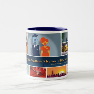 Taza de Srta. Wallace Rhymes With Guillermo