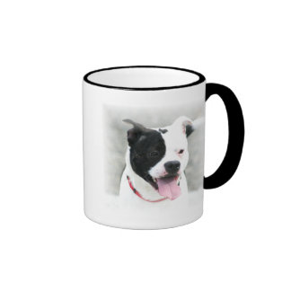 Taza de Staffordshire bull terrier