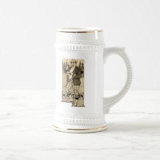 Taza de Stein de la cerveza del anuncio de la esco