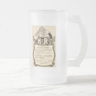 Taza de Stein de la cerveza del anuncio del arma