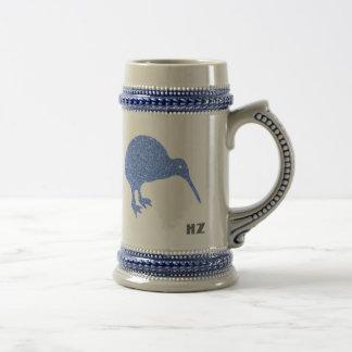 Taza de Stein de la cerveza del kiwi de Nueva