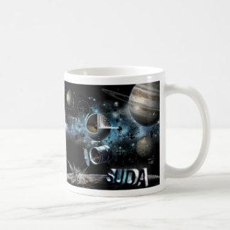 Taza de SUDA (taza blanca)