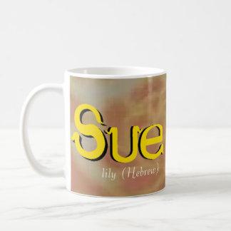 Taza de Sue (diseño de oro del modelo)