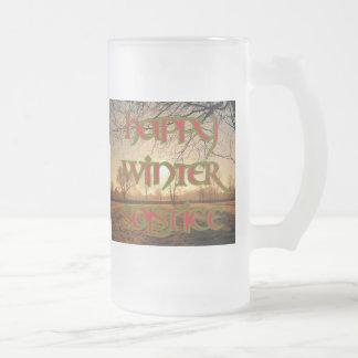 Taza de Sun del invierno para el solsticio de