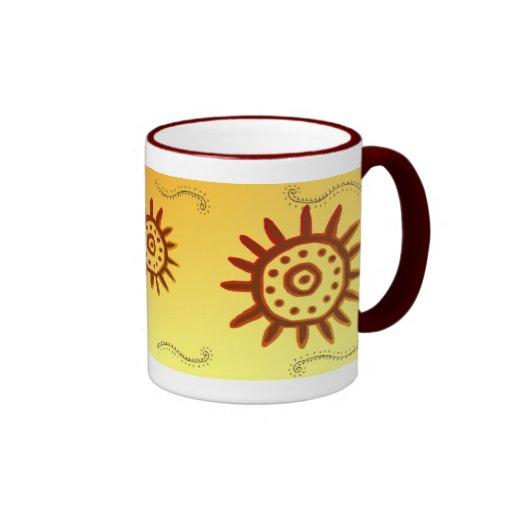 Taza de Sun Symbol-2