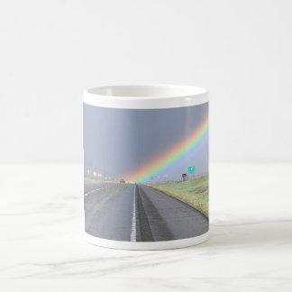 Taza de SUV del arco iris