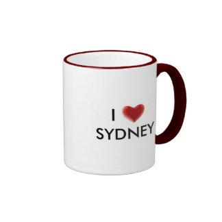 Taza de Sydney del corazón I