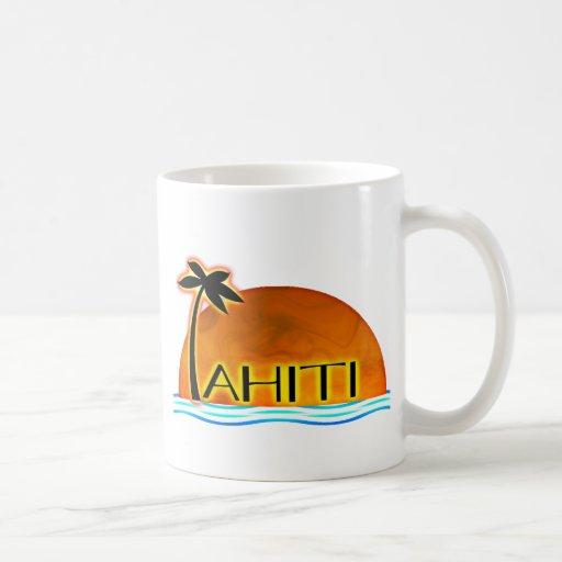 Taza de Tahití