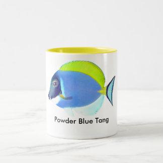 Taza de Tang de los azules claros