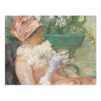 Taza de té de Mary Cassatt, impresionismo del Tarjetas Postales