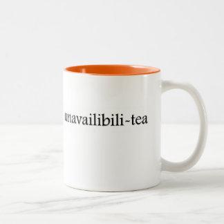 taza de té del Unavailabili-té