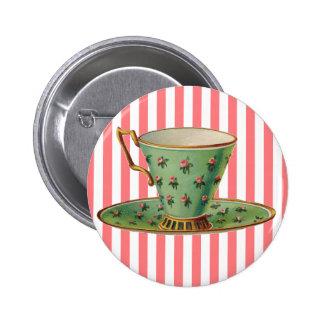 Taza de té del Victorian del vintage Pins
