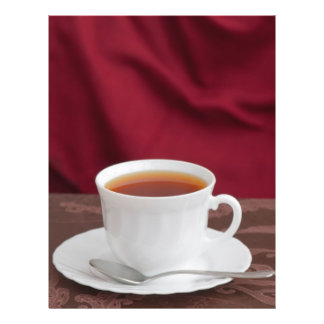 """Taza de té folleto 8.5"""" x 11"""""""