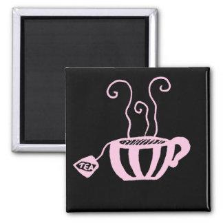 Taza de té imán cuadrado