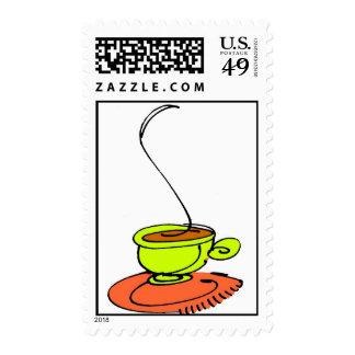 taza de té o de café franqueo
