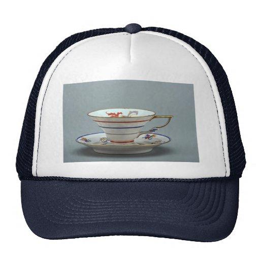 Taza de té y platillo del siglo XX, Alemania Gorros