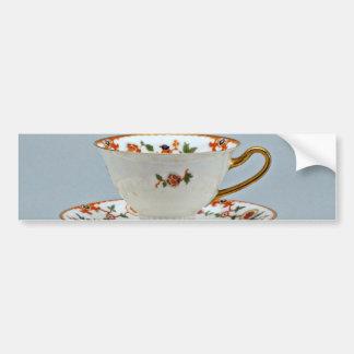 Taza de té y platillo del siglo XX, Baviera, Pegatina Para Auto