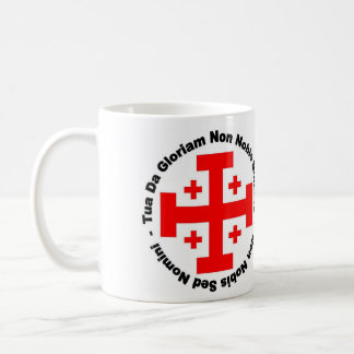 """Taza de Templar del caballero"" Taza Clásica"