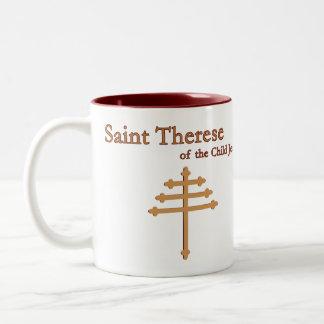 Taza de Teresa Maronite del santo