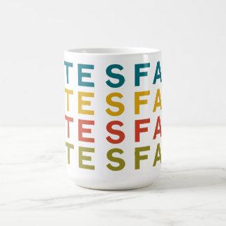 Taza de Tesfa del café