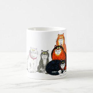 """Taza de """"todos los gatos"""""""